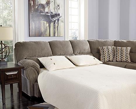 Comfort Commandor Mocha LAF Queen Sofa Sleeper