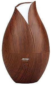 NOW® Foods Ultrasonic Wood Grain Oil Diffuser