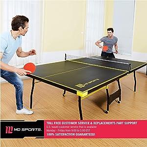 8d36d31af MD Sports Table Tennis Set