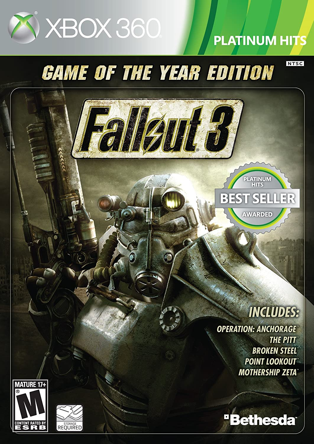 Fallout 3: Game of The Year Edition overwatch game of the year edition [ps4]