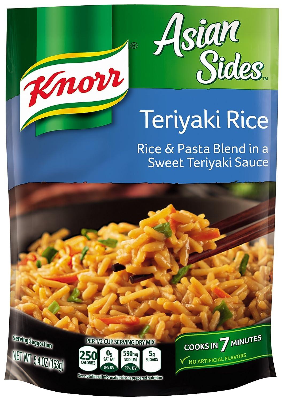 Knorr Asian Sides, Teriyaki Rice, 5.4 Ounce