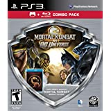 Mortal Kombat vs DC Universe - Silver Shield Combo Pack - Playstation 3