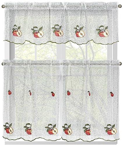 Apple Kitchen Curtains