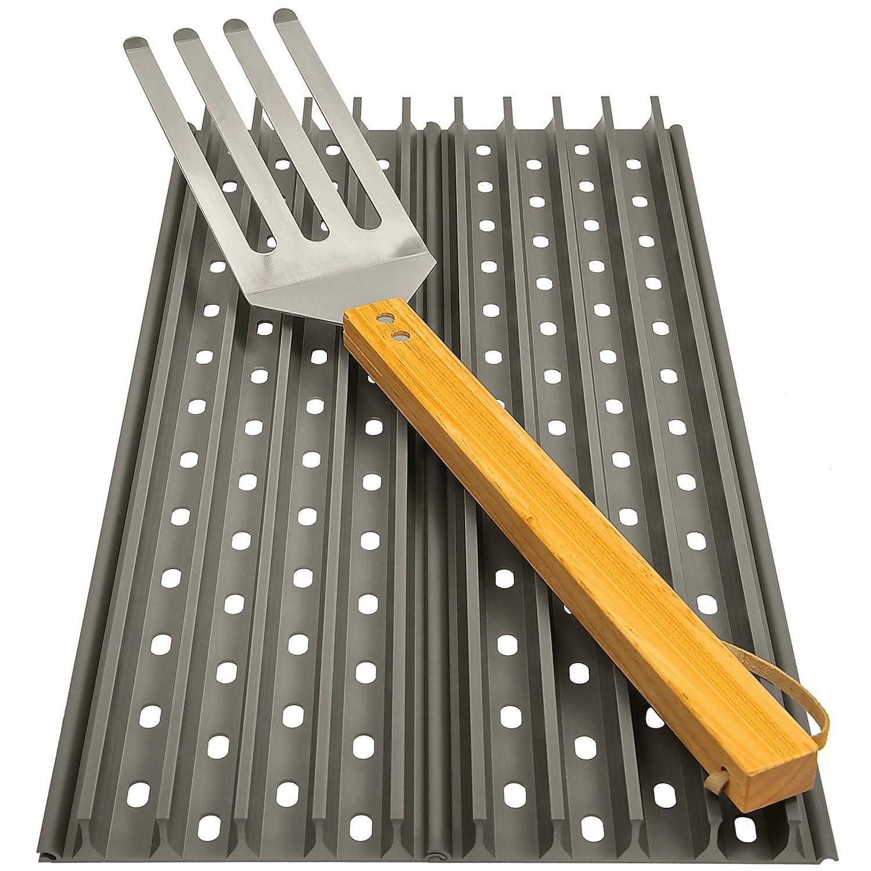 Grandhall GrillGrate Kit Set 2 x 51 cm Grillplatten und GrateTool WGG20K jetzt kaufen