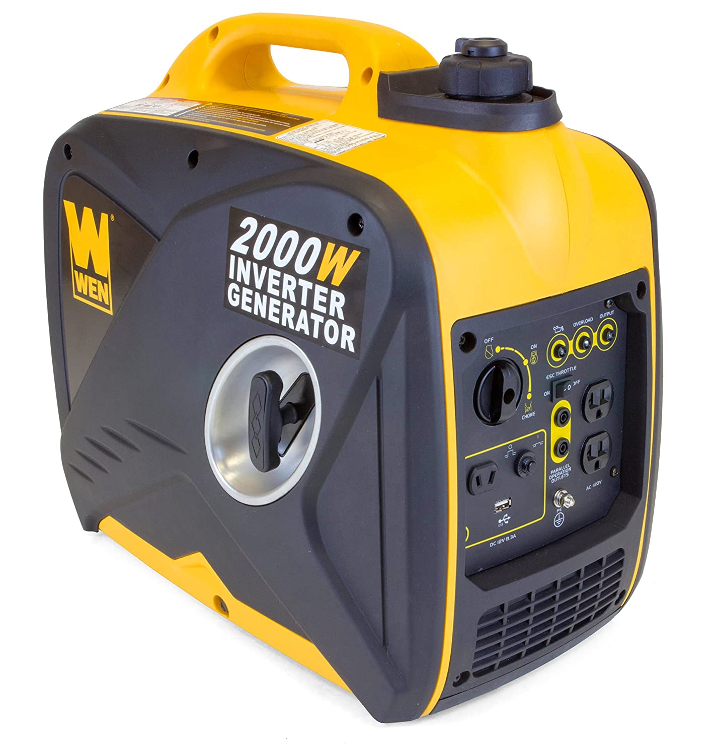 WEN 56200i 2000-Watt 79.7cc OHV 4-Stroke Gas-Powered Portable Inverter Generator