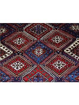 0 0benuta tapis classique d 39 orient d 39 orient yalameh pas cher rouge 210x300 210x300 cm sans. Black Bedroom Furniture Sets. Home Design Ideas