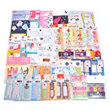 Kawaii japanese Self-Stick Notes Notes Sticky Note Memo Notes random assort 10 pieces set for kids from Japan by JAPANESE cool items store