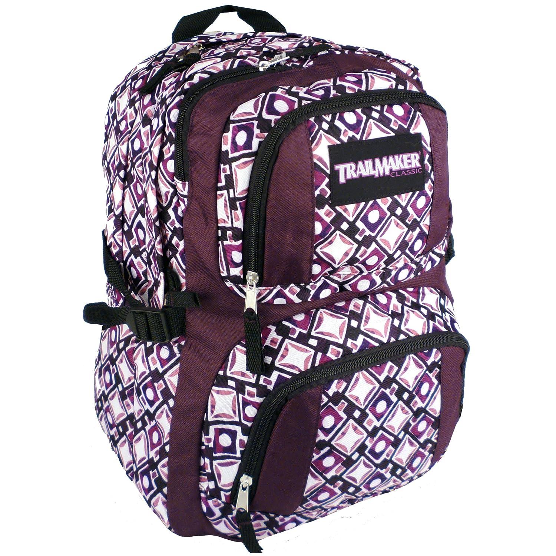 tas gendong sekolah trailmaker ungu