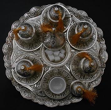 Osmanische Versilberte Kaffee Sets Kaffee, Kaffeeservice