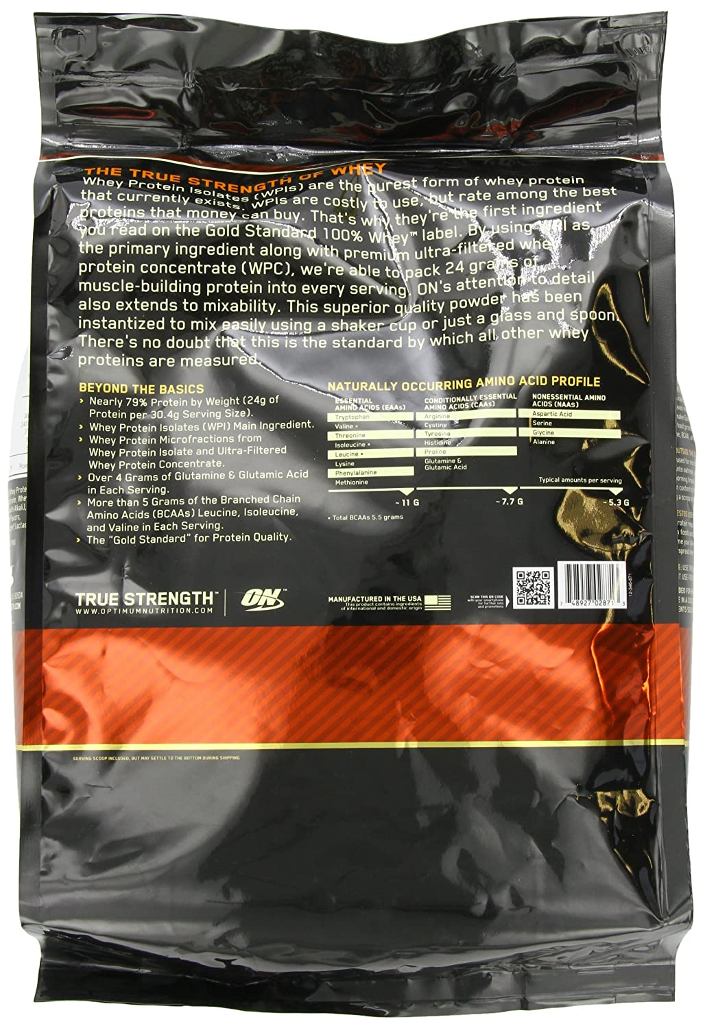 ON Whey Gold Standard - 10 lb Double Rich Chocolate