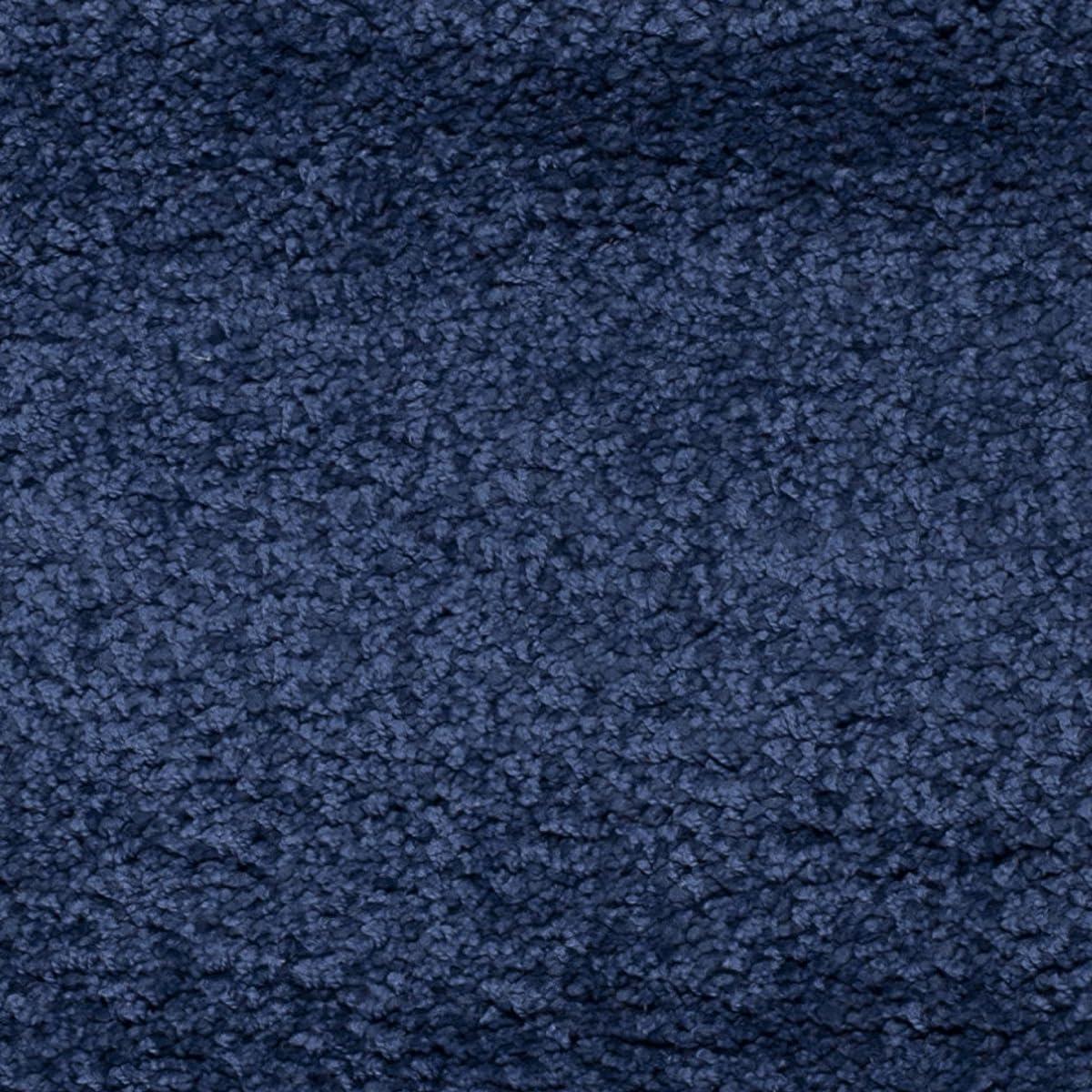 Safavieh Milan Shag Collection SG180-7070 Navy Area Rug (3' x 5')