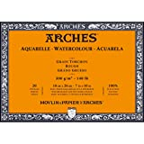 Arches Watercolor Paper Block, Rough, 7