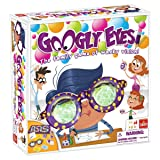 Googly Eyes Game — Family Drawing Game with Crazy, Vision-Altering Glasses (Color: Multicolor, Tamaño: Standard)