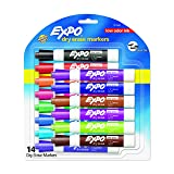 Expo Dry Erase Marker (1974662) (Color: Assorted, Tamaño: 14-Count)