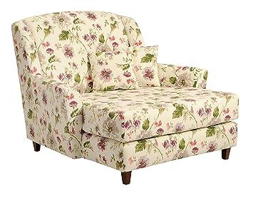 max winzer 2672 714 2045598 xxl jana liebes mega sessel blumenmuster floraler stoff de127. Black Bedroom Furniture Sets. Home Design Ideas