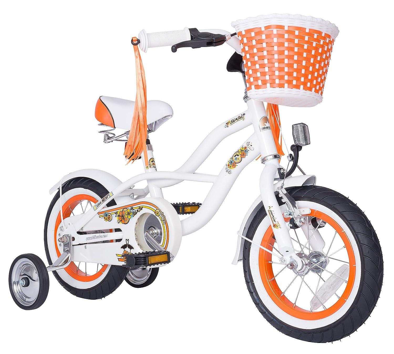 BIKESTAR® Premium Design Kinderfahrrad für coole Kids ab 3 Jahren ★ 12er Deluxe Cruiser Edition ★ Diamant Weiß günstig online kaufen