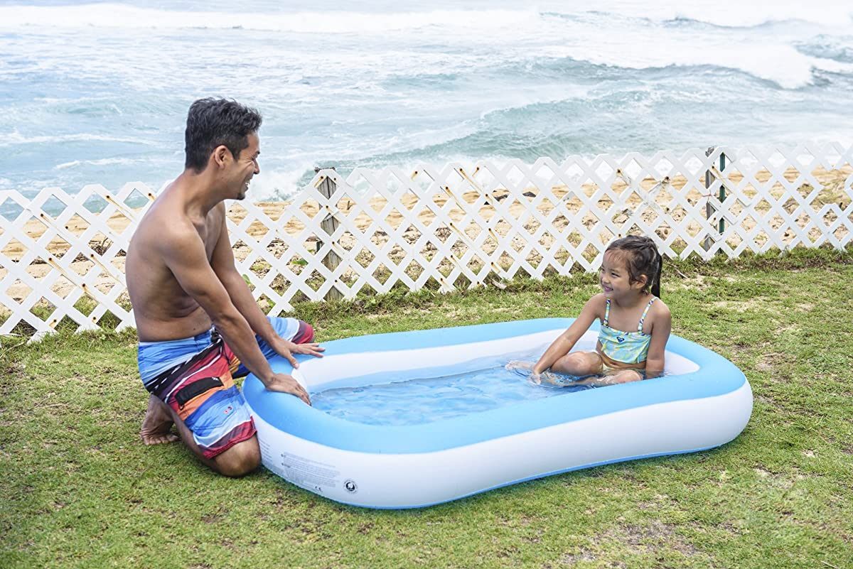 "Baby Pool - Giant Infant Pool - Measures an Impressive 64"" X 41"" X 9.8"""