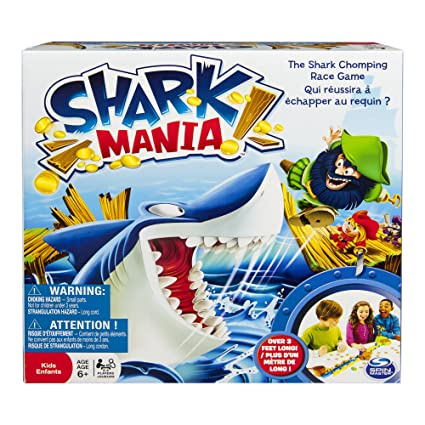 Shark Mania – Jeu de Course Version Anglaise