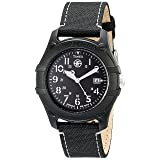 Timex Men's T49689 Expedition Camper Black Nylon Strap Watch (Color: Black, Tamaño: 3 x 4 x 3 Inch)