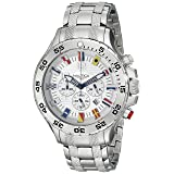 Nautica Men's N20503G NST Stainless Steel Watch (Color: Silver)