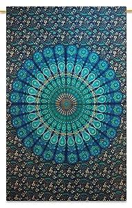 tapicería de la pared de algodón mandala indio colgando hippie decoración tapices de pared 84 x 56   revisión y más información