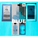 Blue Glow in the Dark Pigment Powder (NOT-ENCAPSULATED)(0.5 Oz / 14.18 Grams, Blue) LONGEST LASTING GLOW IN THE DARK POWDER. RECOMMENDED FOR ALL COLORLESS MEDIUM. INK. PAINT. PLASTIC RESIN. GLASS.etc (Color: Blue, Tamaño: 0.5 Oz / 14.18 Grams)
