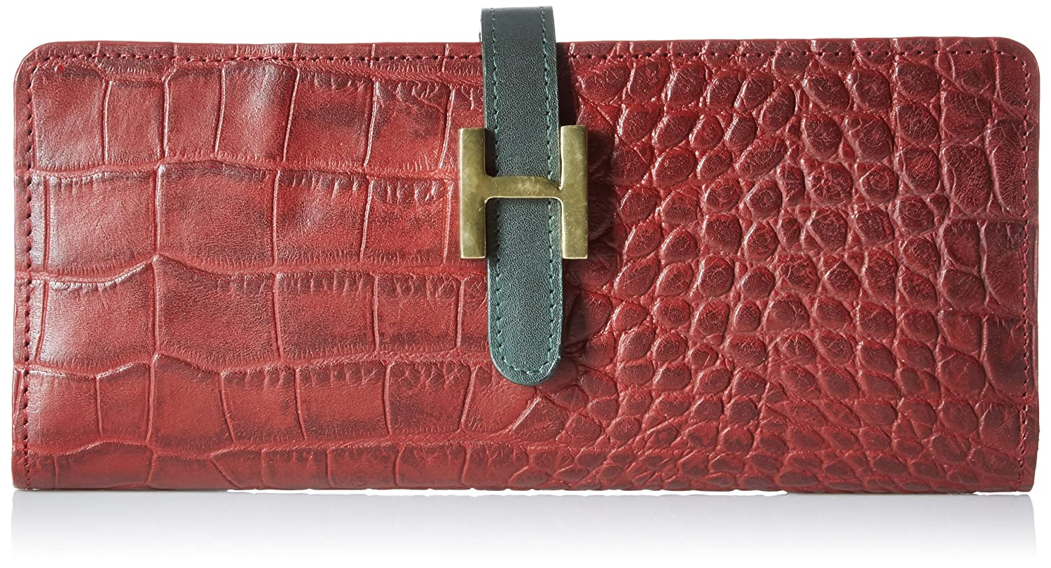 Upto 50% off on Hidesign By Amazon | Hidesign Women's Wallet (Red) @ Rs.1,436