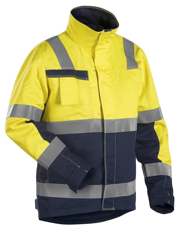 Blakläder Multinorm Winterjacke Gelb/Marineblau, 406815303389, Gr. M online kaufen