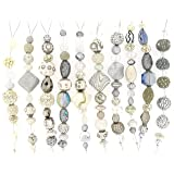 Jesse James Strand Beads, Assortment White, Set of 10 (Color: White)
