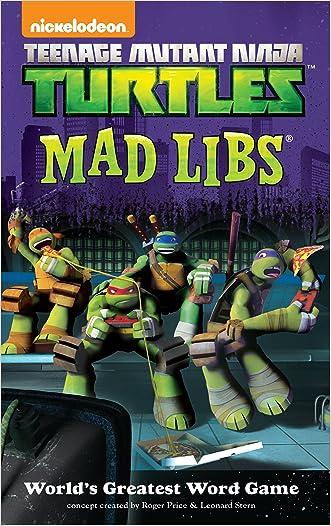 Teenage Mutant Ninja Turtles Mad Libs