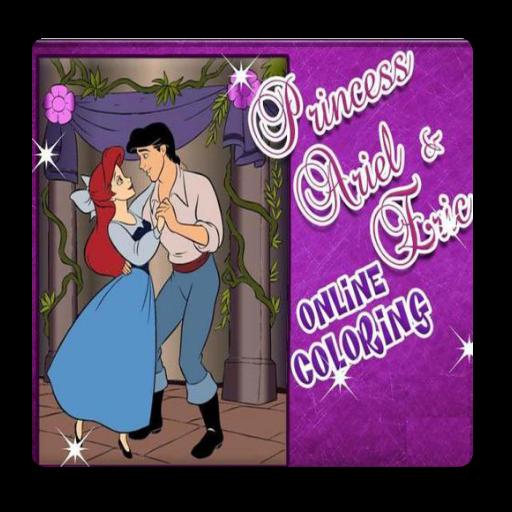 princess-ariel-and-eric-online-coloring-game
