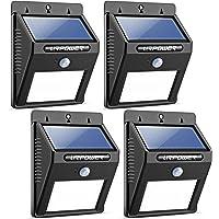 Urpower Solar Lights 8 LED Wireless Waterproof Motion Sensor Outdoor Light