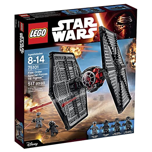 LEGO Star Wars First Order Special Forces TIE Fighter 75101 Building Kit: Toys & Games