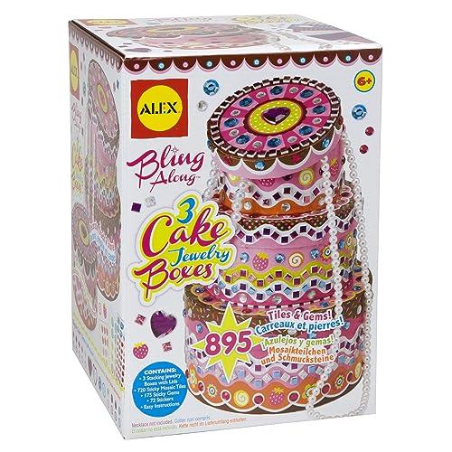 Alex Toys 3 Cake Jewelry Boxes