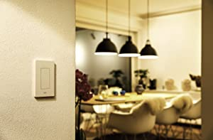 Eve Light Switch - Connected Wall Switch, easily upgrade to intelligent, automate your lighting with timers and rules, Bluetooth Low Energy, white (Apple HomeKit, iOS) - 10027805 (Color: White)