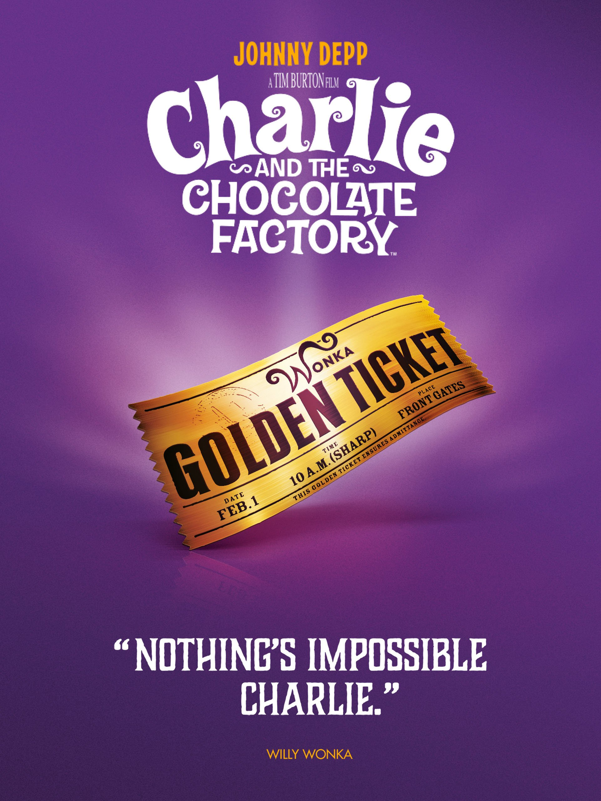 Charlie and the Chocolate Factory on Amazon Prime Instant Video UK