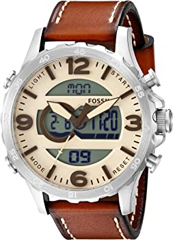 Fossil JR1506 Mens Leather Watch