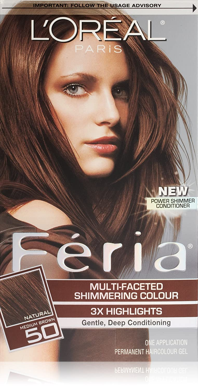 buy feria loreal paris 50 medium brownhavana brown online at low prices in india amazonin