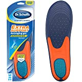 Dr. Scholl's EXTRA SUPPORT Massaging Gel Advanced Insoles (Men's 8-14) // Superior Shock Absorption and Reinforced Arch Support (Packaging May Vary) (Color: Standart, Tamaño: 1 Pair (New))