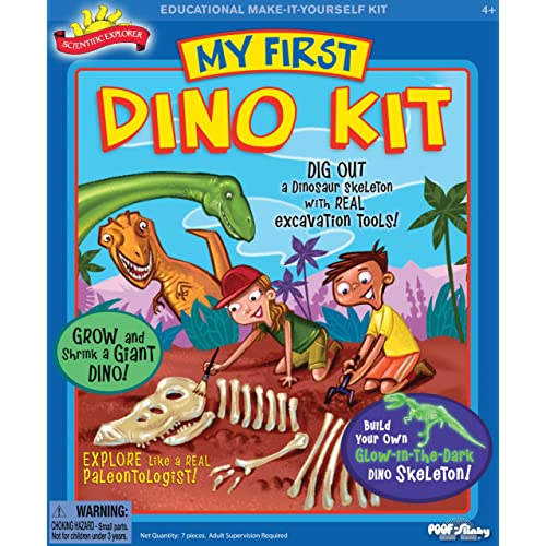 POOF-Slinky - Scientific Explorer My First Dino Kit 3-Activities 0SA227