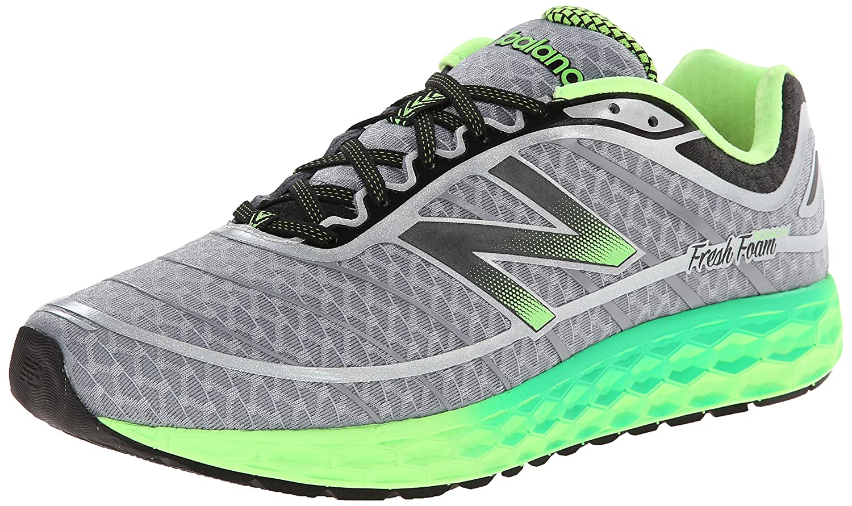 new balance fresh foam 1080 v6 men's shoes grey green