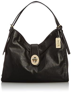 Coach Madison Leather Shoulder Bag Black 40