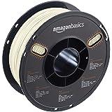 AmazonBasics PLA 3D Printer Filament, 1.75mm, Translucent, 1 kg Spool (Color: Translucent, Tamaño: 1.75mm)