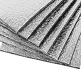 Kilmat 300 mil 18 sqft ?ar sound and heat insulation Self-adhesive PE Foam Deadening Material (1/3'' Thick Sound Deadener)