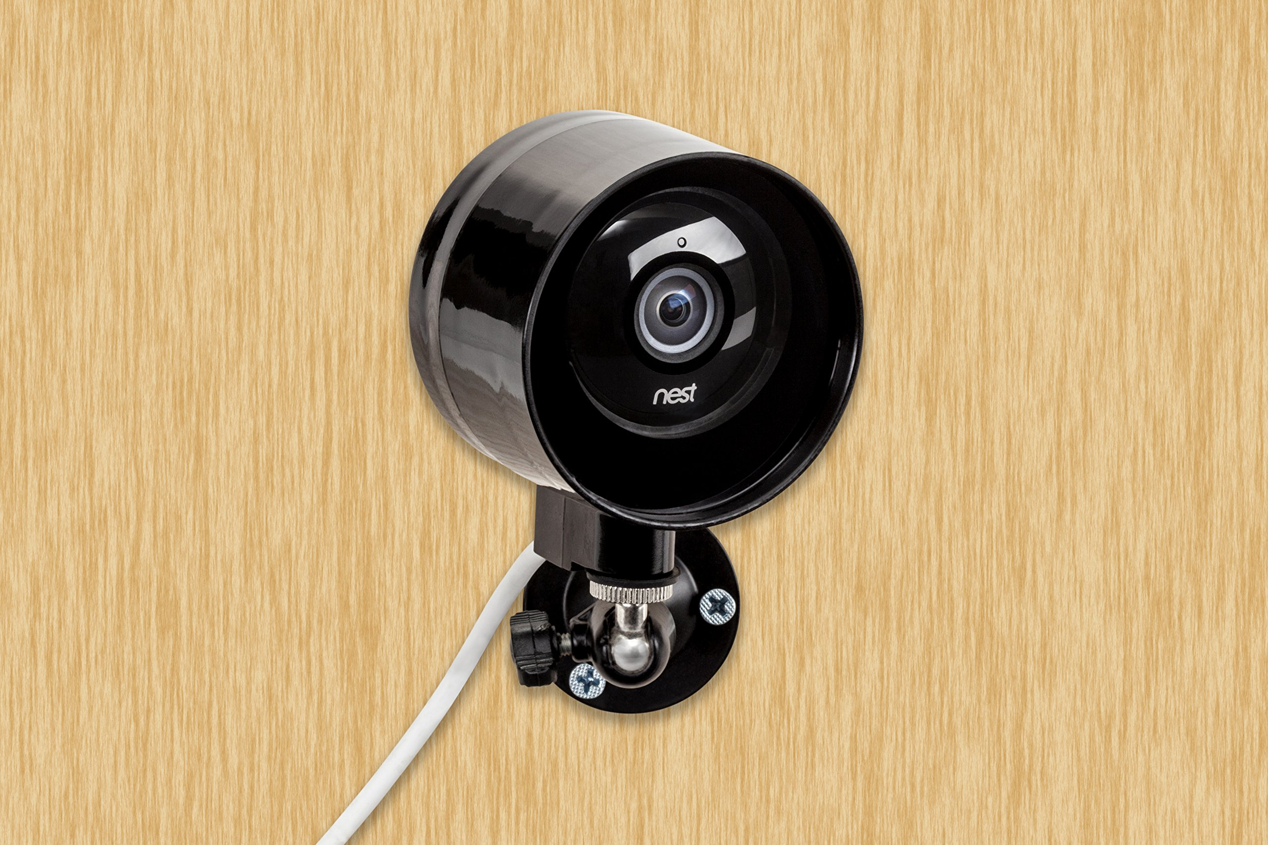 outdoor case and flexible wall mount for nest cam dropcam pro 100 weathe ebay. Black Bedroom Furniture Sets. Home Design Ideas