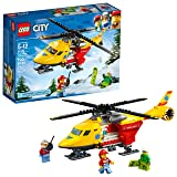 LEGO City Ambulance Helicopter 60179 Building Kit (190 Piece)