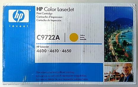 Hewlett Packard Toner C9722A jaune (8 000 copies)