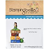 Stamping Bella Uptown Girl Molly Makes A Detour Cling Rubber Stamp, 6.5 x 4.5 (Color: Uptown Girl Molly Makes A Detour, Tamaño: 6.5 x 4.5