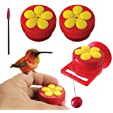 Aroma Trees Handheld Hummingbird Feeders with Perch—Pack of 2