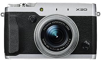 【クリックでお店のこの商品のページへ】FUJIFILM プレミアムコンパクトデジタルカメラ X30 シルバー FX-X30S: カメラ